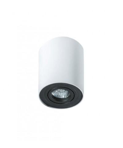 Точечный светильник AZZARDO GM4100-WH-BK BROSS 1 White black