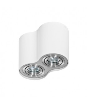Azzardo GM4200-WH-ALU BROSS 2 White-aluminium