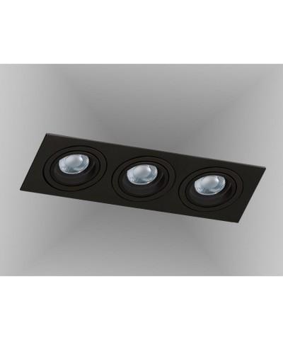 Точечный светильник Azzardo AZ2440 Caro 3 Square (SN-6813S-BK)