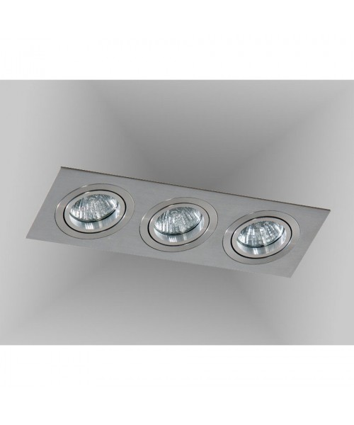 Точечный светильник Azzardo AZ2441 Caro 3 Square (SN-6813S-ALU)