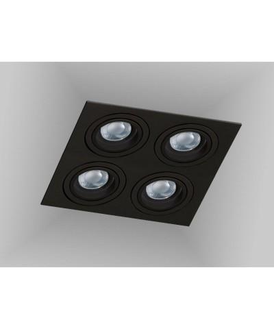 Точечный светильник Azzardo AZ2443 Caro 4 Square (SN-6814S-BK)