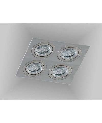Точечный светильник Azzardo AZ2444 Caro 4 Square (SN-6814S-ALU)