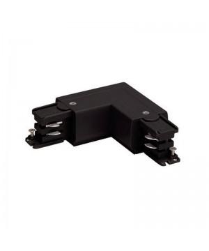 R- коннектор угловой Azzardo AZ2985 black Corner Connectors R