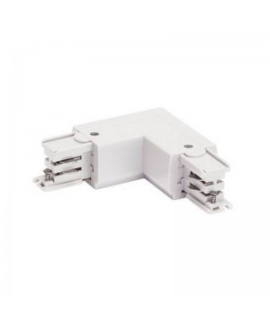 R- коннектор угловой  Azzardo AZ2986 white Corner Connectors R