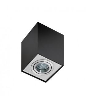 Azzardo AZ0930 ELOY 1 Black\aluminium (GM4106-BK-ALU)