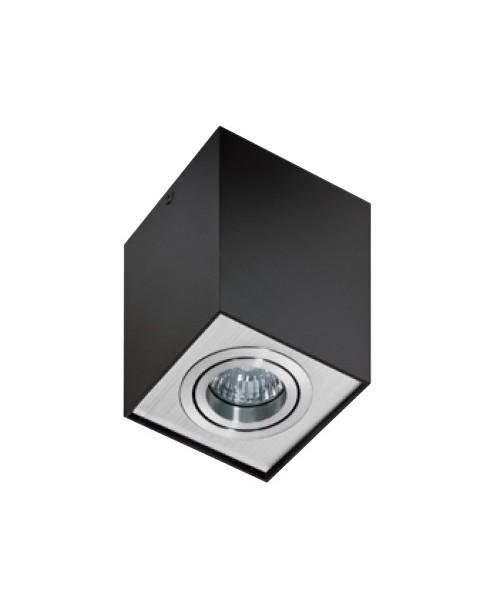 Точечный светильник AZZARDO GM4106-BK-ALU ELOY 1 Black-aluminium