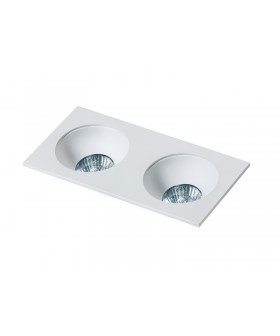 AZZARDO GM2203-WH HUGO 2 Downlight White