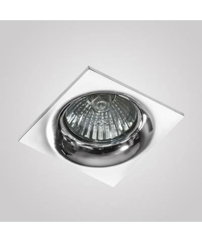 Точечный светильник Azzardo AZ1788 Ivo Square 1 (GM21001S-CH)