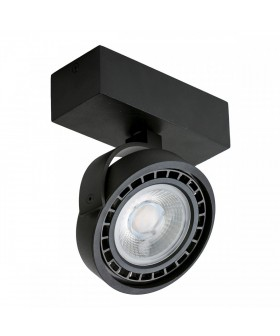 Azzardo AZ1367 JERRY 1 230V LED Black(GM4113-230V-BK)
