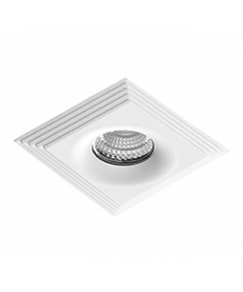 Точечный светильник AZZARDO NC1760SQ-WH LUCIANO S white