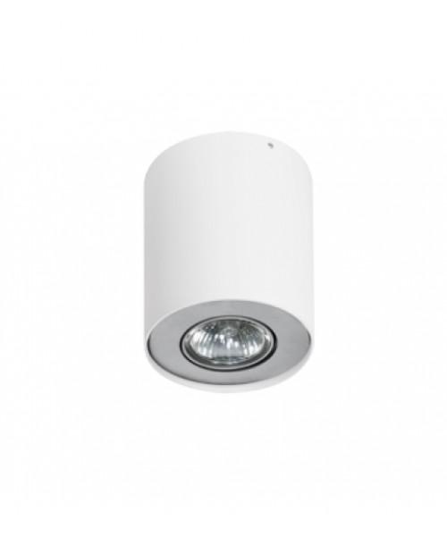 Точечный светильник AZZARDO FH31431B-WH-ALU NEOS 1 White Aluminium