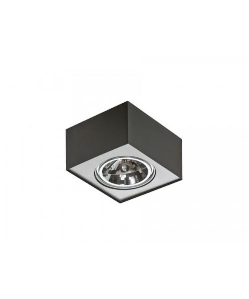 Точечный светильник Azzardo AZ0959 Paulo 1 230V BK/ALU (GM4107 BK/ALU 230V)