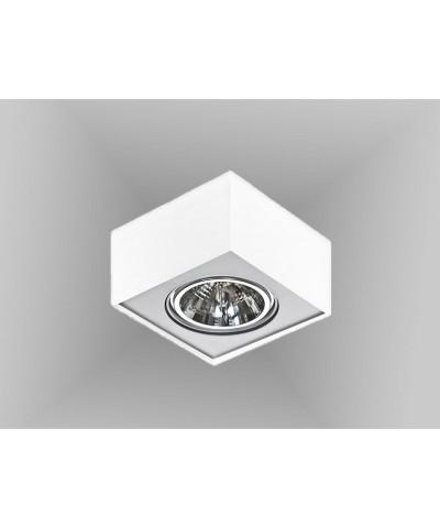 Точечный светильник Azzardo AZ0960 Paulo 1 230V WH/ALU (GM4107 WH/ALU 230V)