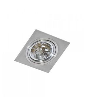 AZZARDO GM2101-ALU SIRO 1 Aluminium