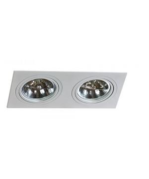Azzardo AZ0770 SIRO 2 Aluminium(GM2200-ALU)