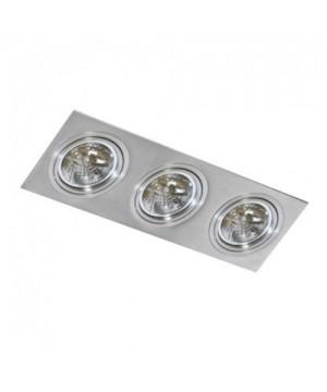 Azzardo AZ0773 SIRO 3 Aluminium(GM2300-ALU)