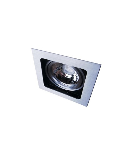 Точечный светильник Azzardo AZ0793 Sisto 1 (GM2109 ALU)