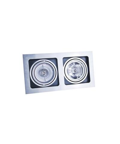Точечный светильник Azzardo AZ0794 Sisto 2 (GM2202 ALU)