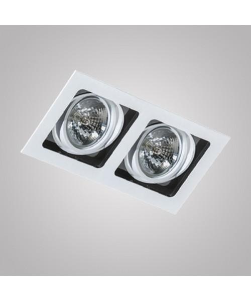 Точечный светильник Azzardo AZ1447 Sisto 2 (GM2202-WH)