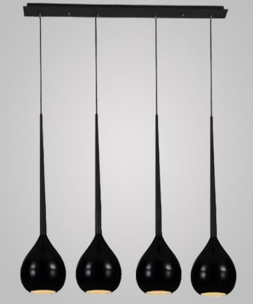 Подвесной светильник Azzardo AZ1067 Aga 4 (MD1289-4 BK)