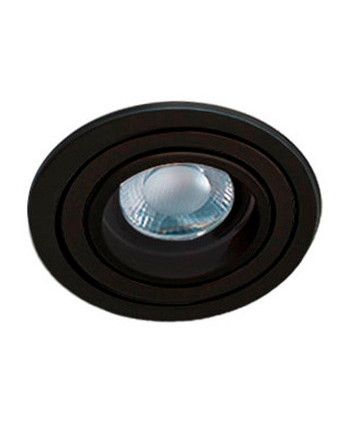 Точечный светильник Azzardo AZ2431 Caro R (SN-6810R-BK)