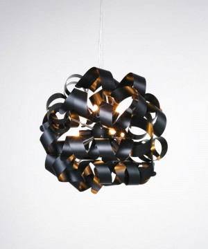Подвесной светильник AZZARDO MD05010015-9C-BK DELTA Oxide Black