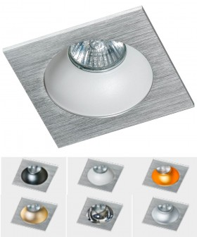 Azzardo GM2118S-ALU  HUGO 1 Downlight Alu