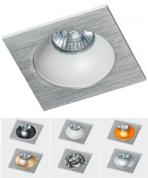 Точечный светильник AZZARDO GM2118S-ALU  HUGO 1 Downlight Alu