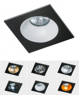 Azzardo AZ1736 HUGO 1 Downlight Black(GM2118S-BK)