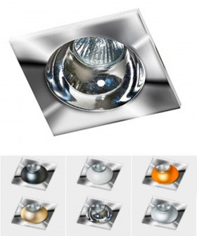 Azzardo GM2118S-CH HUGO 1 Downlight Chrome