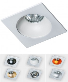 AZZARDO GM2118S-WH HUGO 1 Downlight White