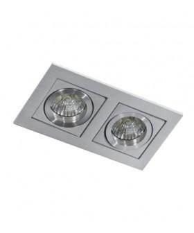 AZZARDO GM2201-ALU PACO 2 Aluminium