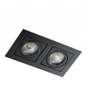 Точечный светильник AZZARDO GM2201-BK PACO 2 Black