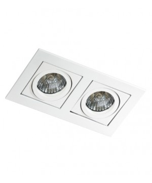 Точечный светильник AZZARDO GM2201-WH PACO 2 White