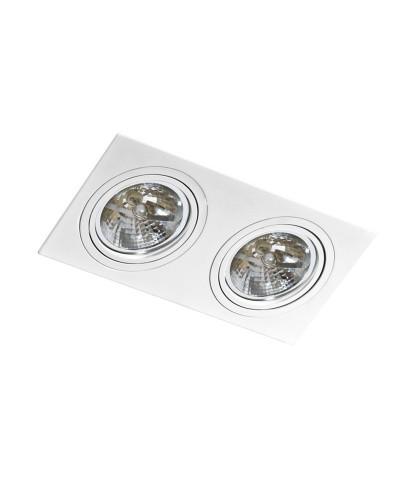 Точечный светильник Azzardo AZ0771 Siro 2 (GM2200 WH)