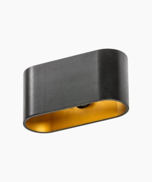 AZZARDO GM1121-BK-GO VEGA Black-Gold