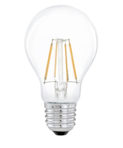 Лампа светодиодная Eglo 11491 A60 4W 2700K E27 Clear