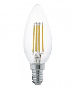 Лампа светодиодная Eglo 11496 B35 4W 2700K E14 Clear
