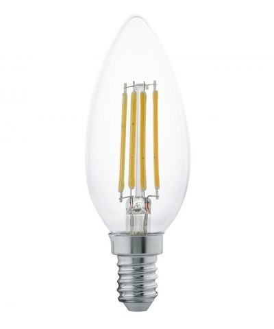 Лампа светодиодная Eglo 11496 B35 4W 2700K E14 Clear Фото 1