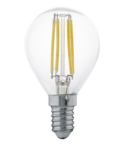 Лампа светодиодная Eglo 11499 P45 4W 2700K E14 Clear Фото 1