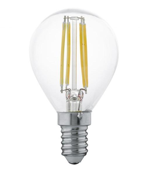Лампа светодиодная Eglo 11499 P45 4W 2700K E14 Clear