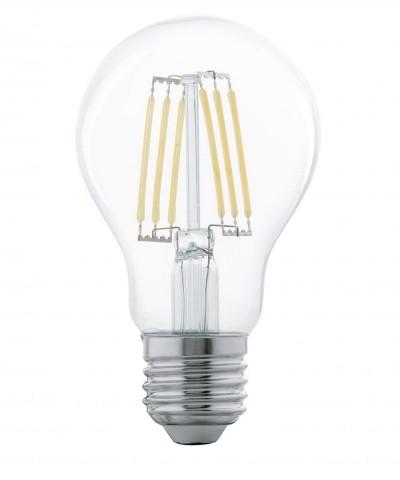 Лампа светодиодная Eglo 11501 A60 6W 2700K E27 Clear Фото 1