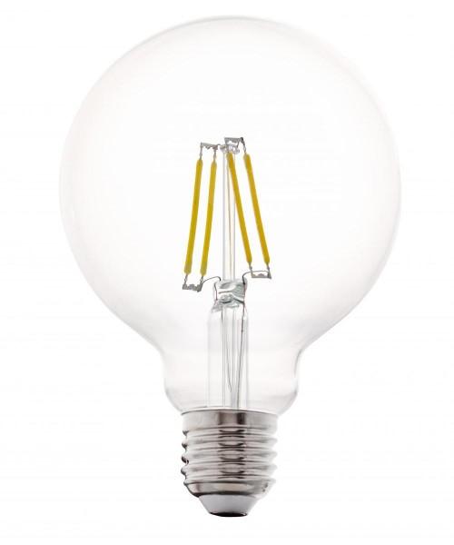 Лампа светодиодная Eglo 11502 G95 4W 2700K E27 Clear