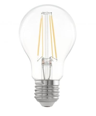 Лампа светодиодная Eglo 11534 A60 6.5W 2700K E27 Clear Фото 1