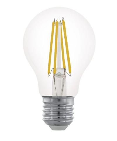Лампа светодиодная Eglo 11701 A60 6W 2700K E27 Clear Фото 1