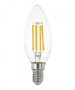 Лампа светодиодная Eglo 11759 C35 4W 2700K E14 Clear