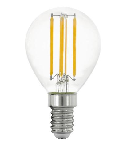 Лампа светодиодная Eglo 11761 P45 4W 2700K E14 Clear Фото 1