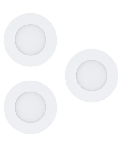 Набор из 3х точечных светильников  Eglo 32881 Fueva-C