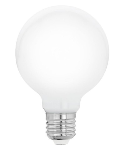Лампа светодиодная Eglo 11766 G80 8W 2700K E27 Milky Фото 1