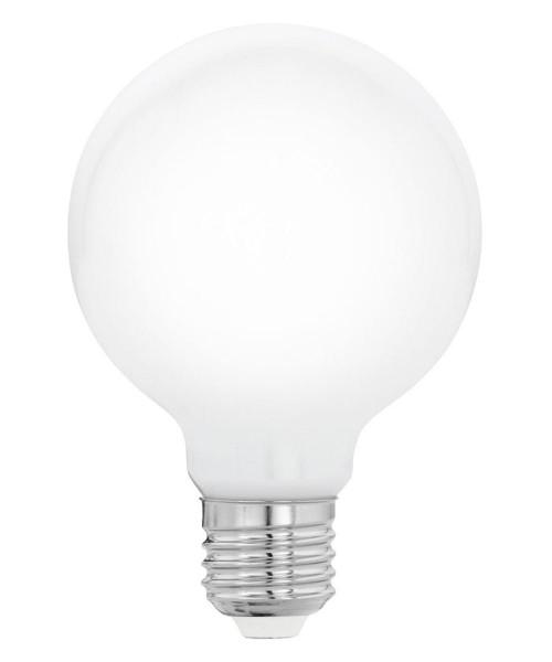 Лампа светодиодная Eglo 11766 G80 8W 2700K E27 Milky